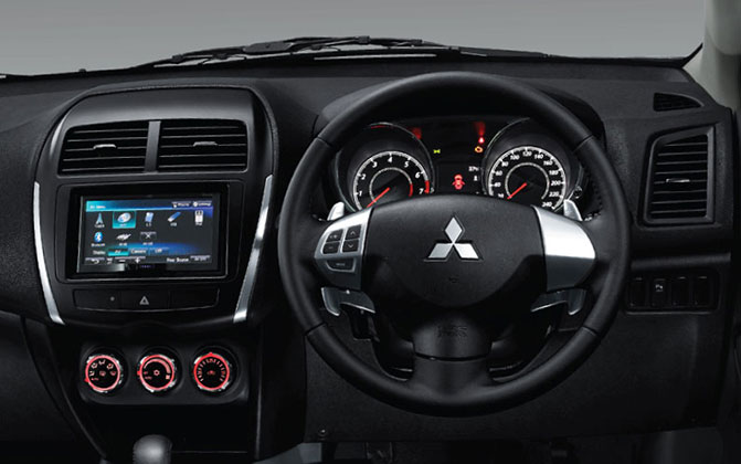 dashboard outlander sport